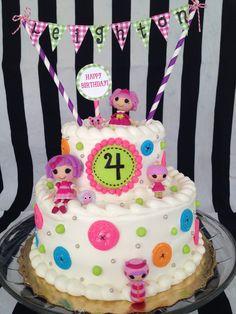 Lalaloopsy Cake Abagails  5th birthday cake