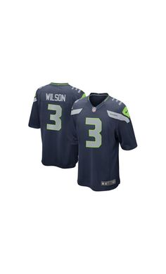 ebffaba9a NFL Men s Seattle Seahawks Russell Wilson College Navy Game  Jersey.   sportshats Seattle Seahawks