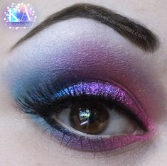 Pink and Blue by =KatieAlves on deviantART