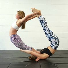 Challenge hard yoga poses for 2 5 hard yoga poses made easy. See more ideas about yoga poses 2 person yoga and 2 person yoga poses. 2 Person Yoga, Two Person Yoga Poses, Hard Yoga Poses, Couples Yoga Poses, Partner Yoga Poses, Cool Yoga Poses, 2 People Yoga Poses, Yoga For Two, Yoga Poses For Two