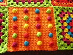 Chicken Betty crochet block