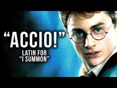 Harry Potter Spells: What They Really Mean - YouTube Harry Potter Magic Words, La Saga Harry Potter, Harry Potter Spells, Yer A Wizard Harry, Harry Potter Birthday, Funny Facts, Spelling, Hogwarts, Meant To Be