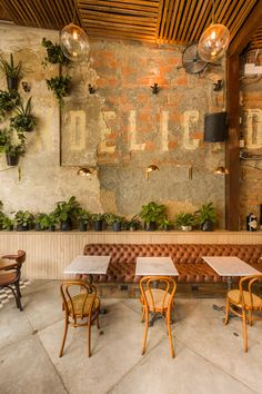 Brick restaurant, small restaurant design, restaurant new york, decoration restaurant, deco restaurant