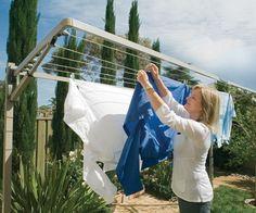 Modern clotheslines