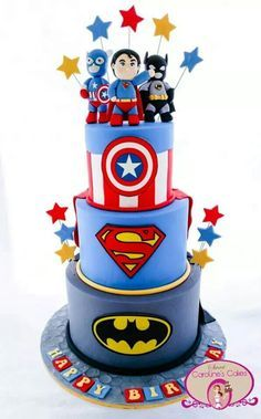 superhero cake - Google Search