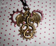 10€ Dragon, Steampunk, Brooch, Jewelry, Pendant Necklace, Jewlery, Jewerly, Brooches, Schmuck