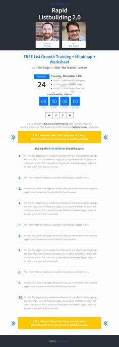 creative webinar landing page free template best landing pages pinterest landing pages. Black Bedroom Furniture Sets. Home Design Ideas