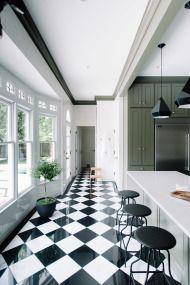 Take a peek at a gorgeous kitchen renovation that's as glamorous as they come.