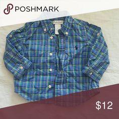 Ralph Lauren blue plaid button down Ralph lauren multi colored plaid button down Ralph Lauren Shirts & Tops Button Down Shirts