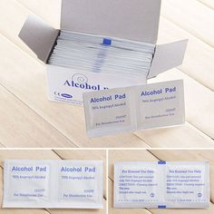 Wet Wipes Useful Alcohol Swabs Pads Wipes Skin Cleanser Sterilization 70% Isopropyl First Aid Home New Sale