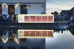 Up Projects Floating Cinema by Duggan Morris Architects