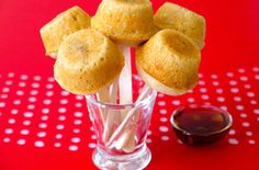 Pancake Sausage Muffins on a Stick — Punchfork