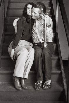 Chet Baker & Diane Vavre by Michiel Hendryckx