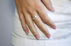 MFF Square Layered Ring www.maryfrancesflowers.com