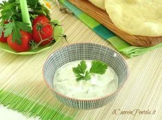 Salsa tzatziki - Ricetta salsa tzatziki Il Cuore in Pentola