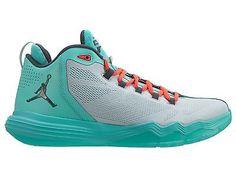 pretty nice f8d18 5b6fe Nike Jordan CP3.IX AE Mens 833909-016 Turquoise Infrared Basketball Shoes  Sz 9.5