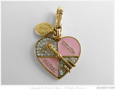 Juicy Couture Limited Edition Truth or Dare Spinner Heart Charm