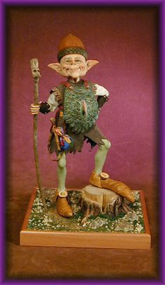 Creager Studios - Hector the Protector. Little Hector is Protector to all creatures in the forest smaller than himself...with acorn helmet and dragon scale armor he is ready for anything...