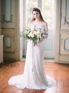 Timeless and Classic Pale Blue Wedding Inspiration | Wedding Sparrow | Momento Cativo