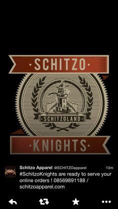 Schitzo Apparel logo design