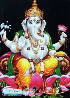 there are many places famous temples in karnataka that are blessed with natural beauty and hence the state is one of the most visited places in the country Sri Ganesh, Shiva Hindu, Hindu Art, Hindu Deities, Ganesha Pictures, Ganesh Images, Lord Krishna, Lord Shiva, Ganesh Lord