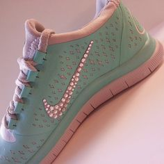 Custom Bling Logo Tennis Shoes by SparklingSinBoutique on Etsy, $180.00