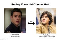 I so figured this out the first time he appeared on pretty little liars and my mind was blown! Pretty Litle Liars, Adolescents, Fandoms, Just For Laughs, Mind Blown, Laugh Out Loud, The Funny, Make Me Smile, In This World