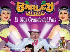 """TURISMO EN CIUDAD JUÁREZ le dice que El Barley Circus presenta su temporada en Ciudad Juárez con su más reciente espectáculo """"Evolution"""", un show sin animales que divierte al público por sus acrobacias y diversos actos. Las funciones son de lunes a jueves a las 20:30 horas; y de viernes a domingo a las 18:15 y 20:30 horas. La carpa se ubica en Avenida Tecnológico y Rivera Lara. #visitachihuahua"""