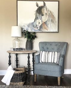 Add personal flair to any room in your home with new art and wall decor from Kirkland's. Shop our newest wall decor selections to update your home today. Horse Canvas Painting, Canvas Art, Taupe Walls, Kirkland Home Decor, Tufted Chair, Cozy Corner, The Ranch, Terrazzo, Perfect Place