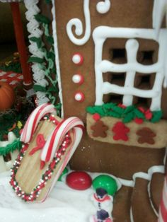 A Season Of Hope Gingerbread House Homemade Gingerbread House, Cool Gingerbread Houses, Gingerbread House Designs, Gingerbread House Parties, Gingerbread Village, Gingerbread Decorations, Christmas Gingerbread House, Christmas Treats, Christmas Baking
