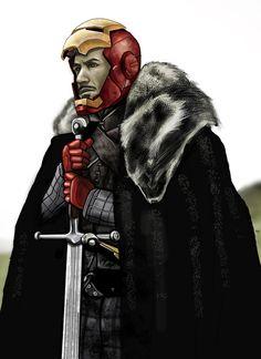 Tony Stark - Game of Thrones by ~HeroforPain on deviantART