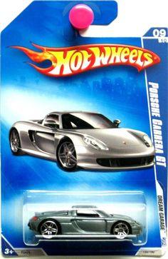 Porsche Carrera GT Hot Wheels 2009 Dream Garage #09/10 Grey #HotWheels #Porsche