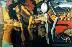 Dali - The Metamorphosis of Narcissus.