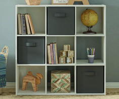 Keep your kids' room or playroom organized with affordable kids' storage furniture from Big Lots. Shop for kids' dressers, storage bins, bookcases and more. Kids Storage Furniture, Kids Bedroom Furniture, Cube Furniture, Cubby Storage, Bedroom Storage, Storage Ideas, Pink Nightstands, Cube Organizer, Cubbies
