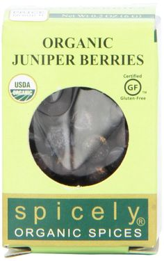 Spicely Organic Juniper Berries - Compact *** Don't get left behind, see this great product : Fresh Groceries