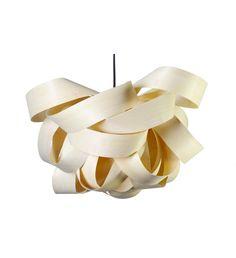 Závěsné stropní svítidlo PIENTE, dřevěné   claro. - nature inspired