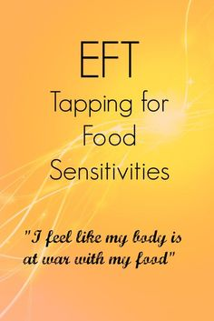 Acupressure For Weight Loss EFT Tapping on food sesitivities - Today I'm sharing some ideas to use EFT to help with food sensitivities. There's a video included for you to tap along with. Eft Tapping, Massage Therapy, Eft Therapy, Food Therapy, Massage Tips, Baby Massage, Alternative Health, Alternative Medicine, Holistic Healing