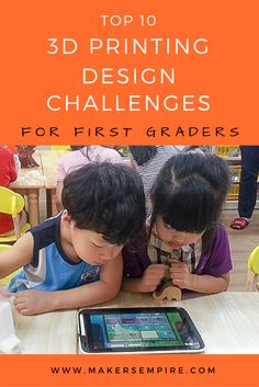 Bring the power of education technology and design thinking to the first graders at your school with these 3D printing design challenges made just for young students! Learn more about 3D printing in education and view other design challenges at www.makersempire.com