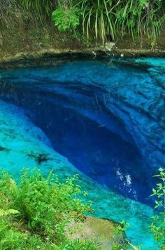 Running through the island of Mindanao in the Philippines, the Enchanted River (real name: Hinatuan River) is not only a beautiful body of water, but a stunning natural mystery — no one knows exactly where the river comes from. Although the river's source is undetermined, it is still a popular destination for swimmers and divers alike.