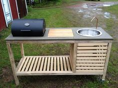 How To Build A Portable Kitchen   DIY projects for everyone!