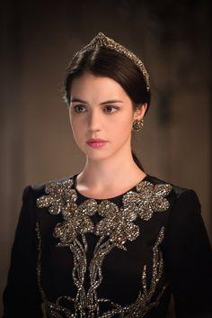 Adelaide Kane as Mary Stuart in Reign (TV Series, 2014).