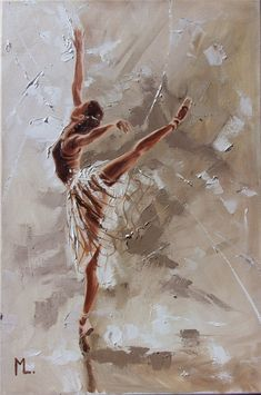 , Oil painting by Monika Luniak on Artfinder. Ballerina Painting, Ballerina Art, Ballet Art, Bailarina Vintage, Dance Paintings, Ballet Photography, Art Drawings Sketches, Portrait Art, Aesthetic Art