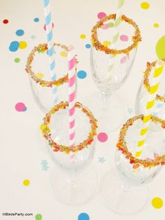 Confetti Themed New Yea'rs Eve Party DIY Ideas