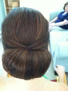 Chignon, Bridal updo , wedding hairstyles , www.jenniekaybeauty.com