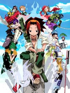 Shaman King--just finished the anime series yesterday. SO GOOD. <3