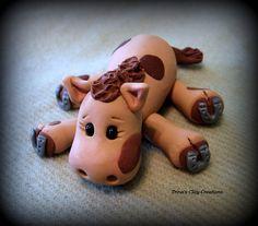 Polymer Clay Horse by trinasclaycreations on Etsy, $28.00