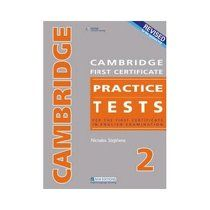 Cambridge first certificate, 2. Practice tests for the first certificate in English examination