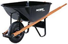 Do You Need a Wheelbarrow or a Garden Cart? Wheelbarrow Garden, Storing Garden Tools, Garden Cart, Diy Garden Decor, Garden Ideas, Garden Supplies, Lawn And Garden, Potted Plants, Cool Ideas
