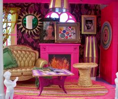 Barbie's Big Ass Dream House makeover by Mark Montano.  I believe I would have been punished for doing this to my Barbie house but this is what MY Barbie's dream was all about.