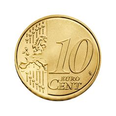 10 Euro Cent Coin New Style (Common Side)